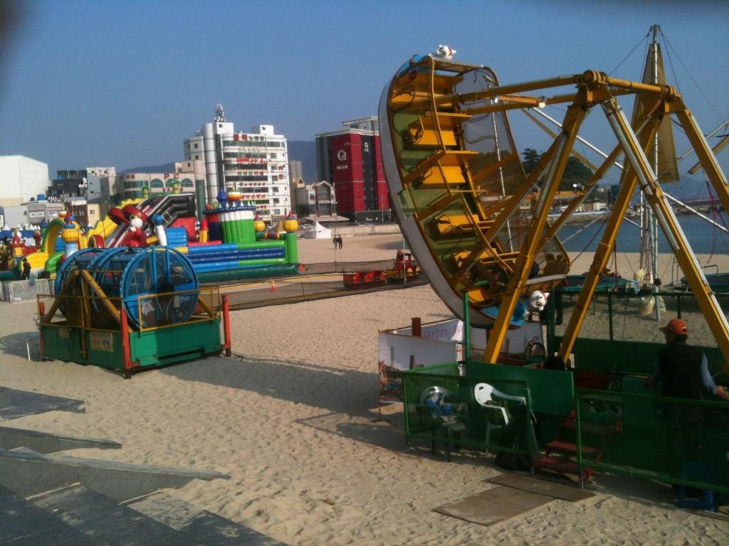 송도해수용장 축제